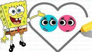 Love Balls Vs SpongeBob's Game Frenzy - Daily Challenge Vs Spongebob Funny Mini Games