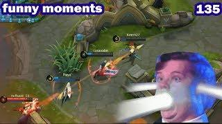 Mobile Legends Funny Moments Episode 133 | Lucu |  OMG  300 IQ Genius Plays Moments |