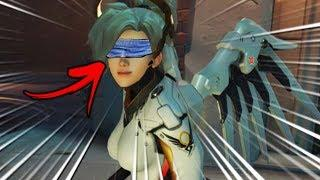 INTENSE *NEW* BIRD BOX Game Mode..!! - Overwatch Workshop Funny & Fail Moments #6