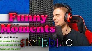 Funny Moments - Bladii & Dobrodziej & Diabeuu & Alien & Kubson | Skribbl.io