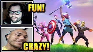 Streamers React To Playing 'The Endgame' LTM | Fortnite Highlights & Funny Moments
