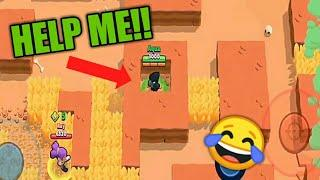 Brawl Stars funny Moments /glitch, best gameplay (Brawl stars)