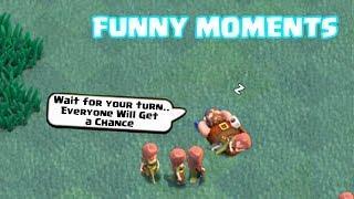 coc funny moments glitches fails trolls compilation clash of