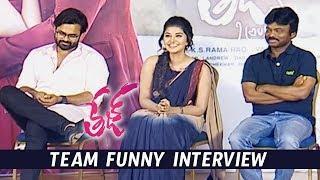 Tej I love You Movie Team Funny Interview | Anupama Parameswaran | Sai Dharam Tej