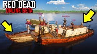 NEW PIRATES MINIGAME in Red Dead Online! RDR2 Online Funny Moments!