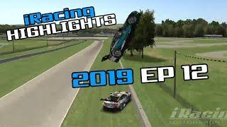 iRacing Twitch Highlights, 2019 Ep. 12 (Fails, Wins and Funny Moments)