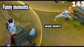 Mobile Legends Funny Moments Episode 143 | Lucu |  OMG  300 IQ Plays Moments |
