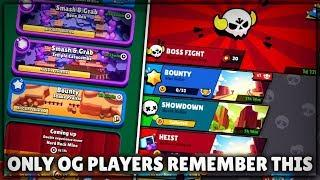 ALL 4 VERSIONS OF BRAWL STARS! ONLY OG PLAYERS REMEMBER THIS! :: Brawl Stars Gameplay