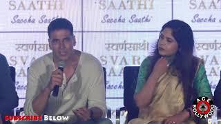 Akshay Kumar's FUNNY Reply To Reporter For Asking Quotation On Bollywood Stars BAD HABITS