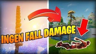 NO FALL DAMAGE BUGG! (Svenska Fortnite Highlights & Funny Moments) #17