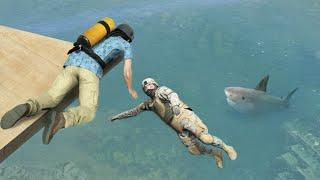 GTA 5 Water ragdolls/fails compilation vol.15 [Euphoria physics | Funny Moments]