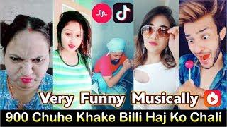 900 Chuhe Khake Billi Haj Ko Chali | Best Comedy Of Musically Stars | Viral Tik Tok Funny Videos