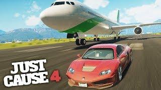 FASTEST SUPERCAR IN JUST CAUSE 4! - Just Cause 4 Funny Moments!
