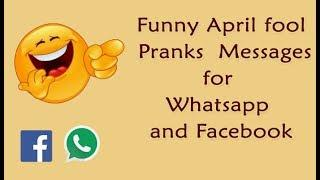 April Fools Day 2019 pranks, Whatsapp status,  jokes, images, wishes, SMS & messages अप्रैल फूल 2019