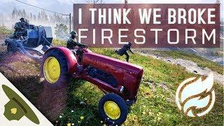 Battlefield 5 Firestorm Funny Moments: I think we broke it