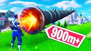 *SUPER RARE* 900m+ CANNON KILL! - Fortnite Funny WTF Fails and Daily Best Moments Ep.1124