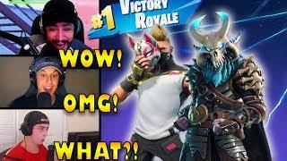 STREAMERS REACT TO *NEW* SEASON 5 UPDATE!! | Fortnite Highlights & Funny Moments