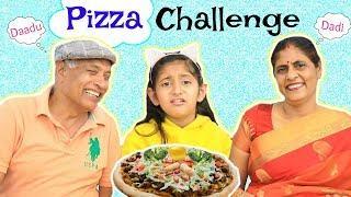 PIZZA CHALLENGE feat. Dadi & Dadu | #Family #Fun #Kids #Comedy #MyMissAnand