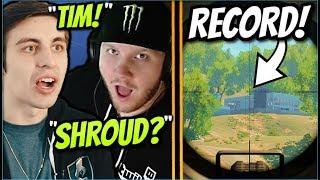 Shroud DESTROYS TimTheTatMan! LONGEST BLACKOUT SNIPE SO FAR! COD Blackout Funny Moments/Fails/WTF