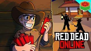 HILARIOUS Server Brawl! | Red Dead Redemption 2 Online (Funny Moments)