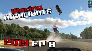iRacing Twitch Highlights, 2019 Ep. 8 (Fails, Wins and Funny Moments)