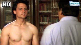 Comedy Scene of Sanjay Dutt - Mamta Kulkarni - Govinda from Andolan - 90's Best Hindi Movie