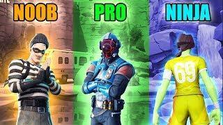 NOOB vs PRO vs NINJA - Fortnite Battle Royale Funny Moments! #94