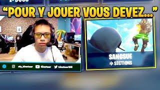 KINSTAAR DÉVOILE LE NOUVEAU MODE SANGSUE !! ???? Fortnite Funny Moments #70