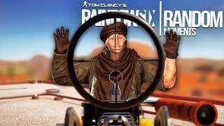 Rainbow Six Siege - Random Moments: #45 (Sad Maverick,Perfect Timing)