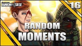 REACCIONANDO A FUNNY MOMENTS #16 | Caramelo Rainbow Six Siege Gameplay Español