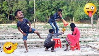 Must Watch New Funny ???? ???? Comedy Videos 2019 - Episode 86 || Love Story || #SohelAhmed