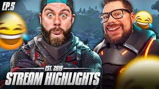 FORTNITE RAGE AND FUNNY MOMENTS - Nick28T Stream Highlights #5 2019