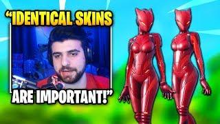 SypherPK Explains Why IDENTICAL SKIN Duos Are Overpowered | Fortnite Daily Funny Moments Ep.306