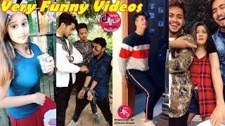 Musically funny Videos in Hindi | Best Comedy Jokes Tik Tok Videos 2018