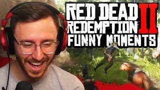 NO WITNESSES!! - Red Dead Redemption 2 Funny Moments & Fails