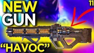 Shroud Reacts to New Gun Havoc - Apex Legends Funny Moments 11