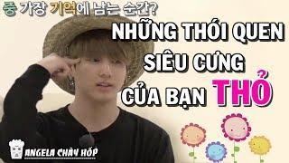 [BTS Funny moments #44] Những thói quen siêu cưng của bạn Thỏ
