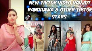 Navjot With Chann Other Tiktok Stars ।Funny, Gitar, Pichedekho, Dialog, Dance ।Acting TikTok Video,