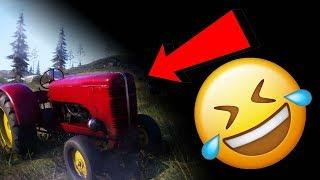 The TRACTOR is a MAGNET in FIRESTORM || BFV Funny Moments