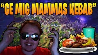ZAITR0S VILL HA MAMMAS KEBAB? *HAHA* (Svenska Fortnite Highlights & Funny Moments) #11