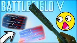CRAZY THROWING KNIFE FEEDS!! (Battlefield V Funny Moments & Gameplay)