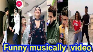 Lucky Dancer Vs Famous Musically Stars Latest Tik Tok Musically comedy video | Trending Musically