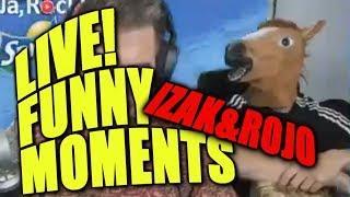Funny Moments IZAK & ROJO | STREAM #3