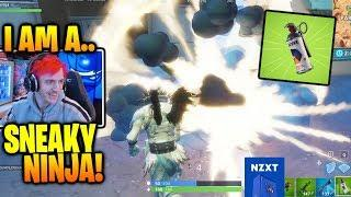 Ninja LOVES the new Smoke Grenades..! *Tfue INSANE Clutch!* (Fortnite Funny Moments)