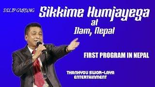 sikkim humjayega latest jokes| Dilip Gurung at Ilam | episode 1