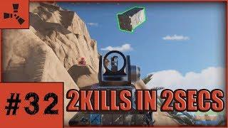 Insane Spray Transfer ! Lag Hacks ? !! RUST TWITCH HIGHLIGHTS AND FUNNY MOMENTS #32