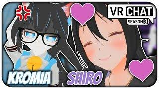 "[VRChat] S3;Part 32 - Shiro's ""LOVE"" & Kromia Booli's Me! (VRChat Funny Moments)"