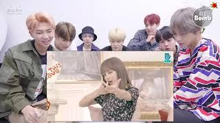 "BTS REACTION |BLACKPINK Funny Moments NEW MINI ALBUM ""KILL THIS LOVE"""