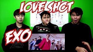 EXO - LOVE SHOT MV REACTION (FUNNY FANBOYS)