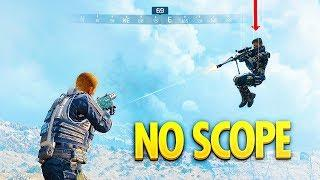 Crazy mid-air NO SCOPE in Blackout... (Blackout WTF & Funny Moments #91)